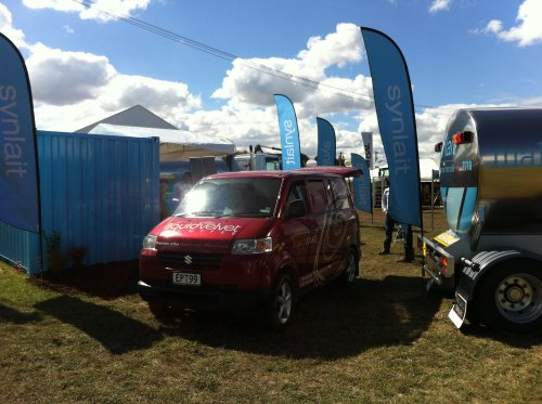 delivering perfect mobile coffee for corporate events like Lincoln Field Days 2013