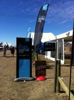 Liquid Velvet Coffee with Synlait Milk Ltd - South Island Field Days Kirwee 2015